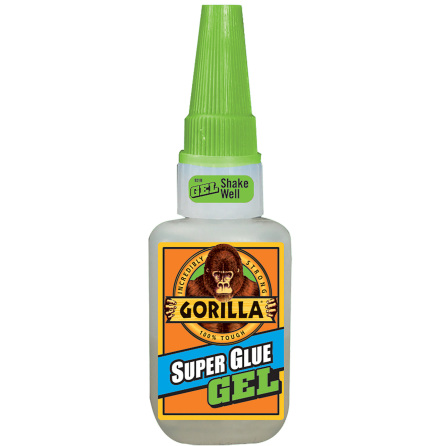 Gorilla Super Glue 15g GEL