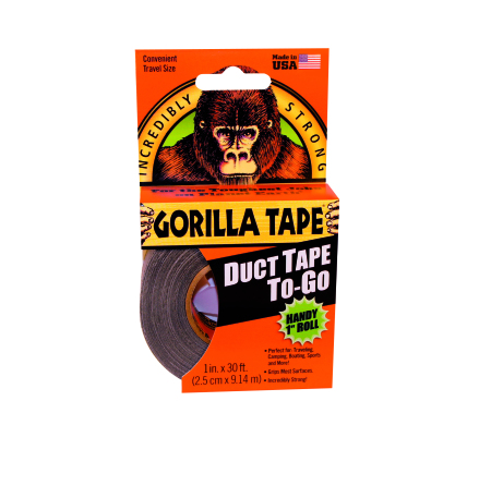 Gorilla Tape 9m Svart To Go