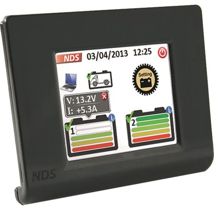 NDS Sun Control till solcellpaket touch display